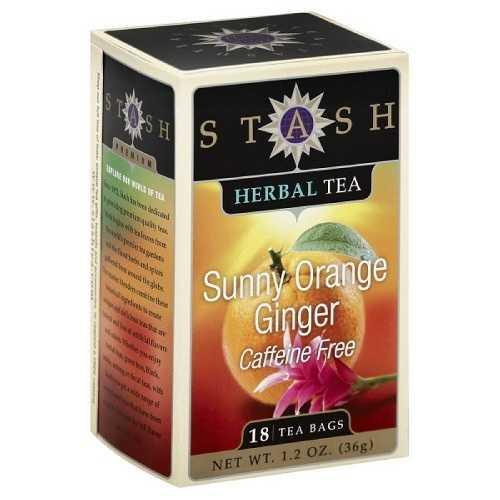 Stash Herbal Tea Sunny Orange and Ginger (6x18 BAG )