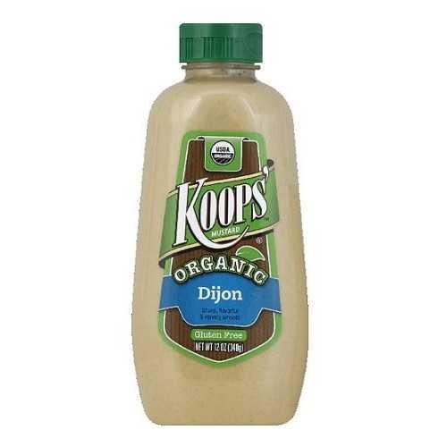 Koops Organic Dijon Mustard (12x12 OZ)