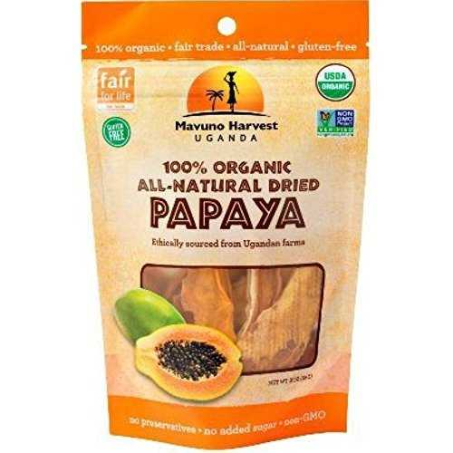 Mavuno Harvest Organic Papaya  (6x2 OZ)