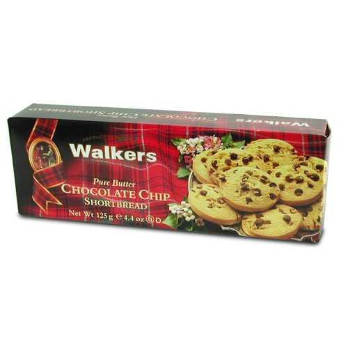 Walkers Chocolate Chip Shortbread (6x4.9 OZ)