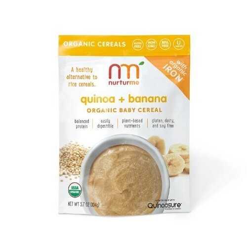 Nurturme Infant Cereal, Quinoa And Banana (6X3.7 OZ)