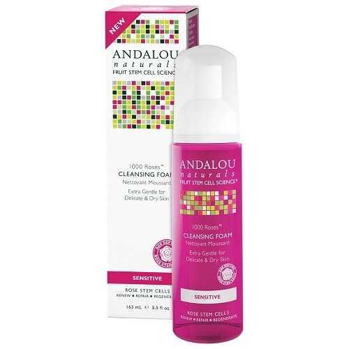 Andalou Naturals 1000 Roses Cleansing Foam (1x5.5 OZ)
