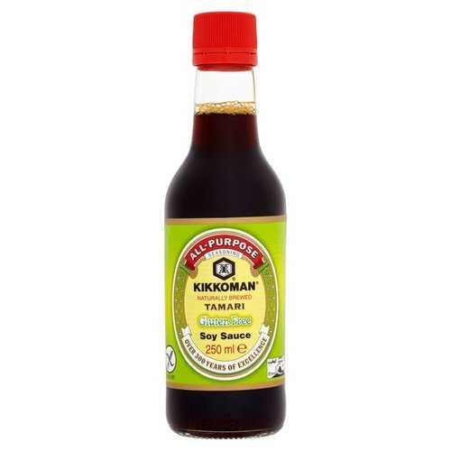 Kikkoman Gluten Free Tamari Soy Sauce (6x10 OZ)