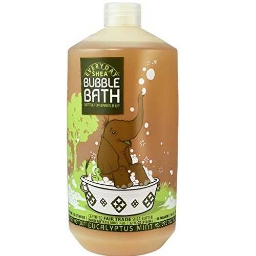 Everyday Shea Bubble Bath Eucalyptus Mint (1x32 OZ)