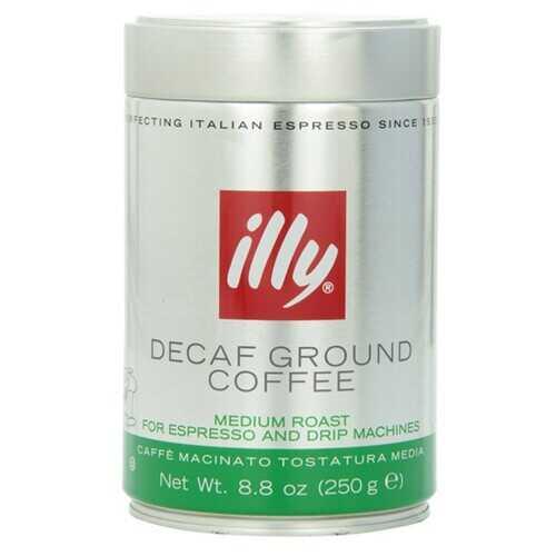 illy Decaf Medium Roast Ground Coffee  (6x8.8 OZ)