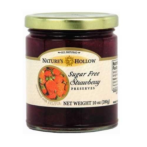 Nature's Hollow Strawberry Jam (6x10 OZ)