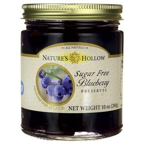 Nature's Hollow Sugar Free Blueberry Preserves (6x10 OZ)