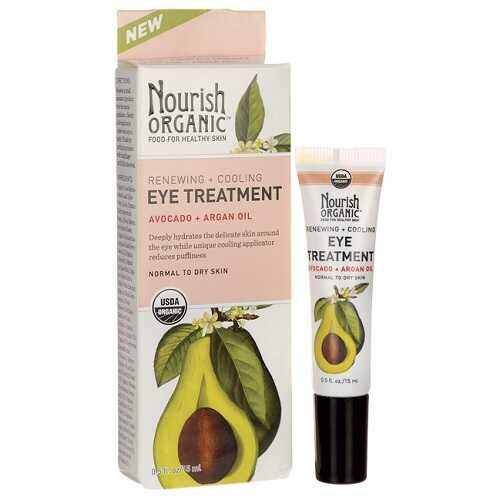 Nourish Organic Renewing and Cooling Eye Treatment (1x0.5 OZ)