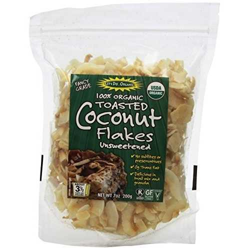 Let's Do Organics Organic Toasted Coconut Flakes (12x7 OZ)