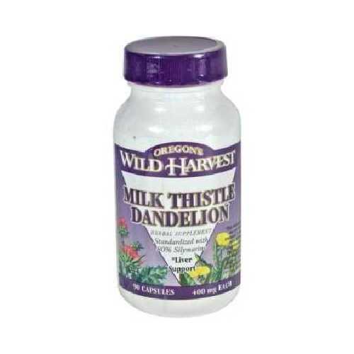 Oregon's Wild Harvest Milk Thstle Dandlion (1x90VCAP)