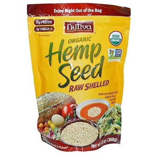 Nutiva Organic Shelled Hempseed (1X12 OZ)
