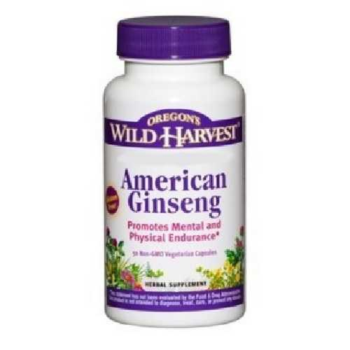 Oregon'S Wild Harvest Owh American Ginseng (1X50 Vcap)