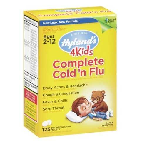 Hyland's 4 Kids Complete Cold and Flu Relief (1x125 TAB )