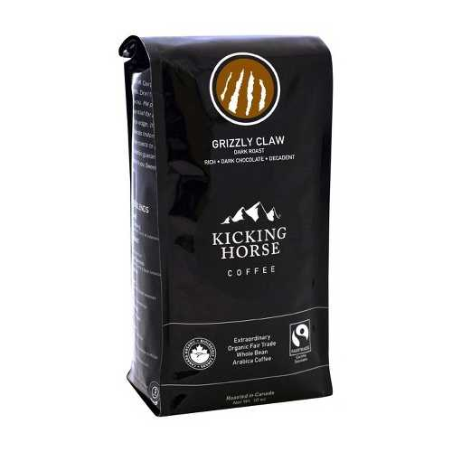 Kicking Horse Coffee Grizzly Claw Dark Roast (6x10 OZ)