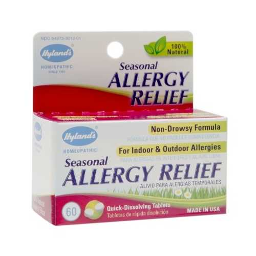Hyland's Seasonal Allergy Relief  (1x60 TAB )