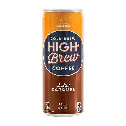 High Brew Coffee Salted Caramel (12x8 OZ)