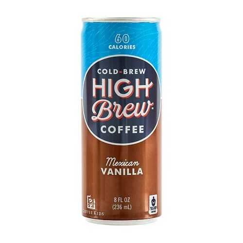 High Brew Coffee Mexican Vanilla (12x8 OZ)