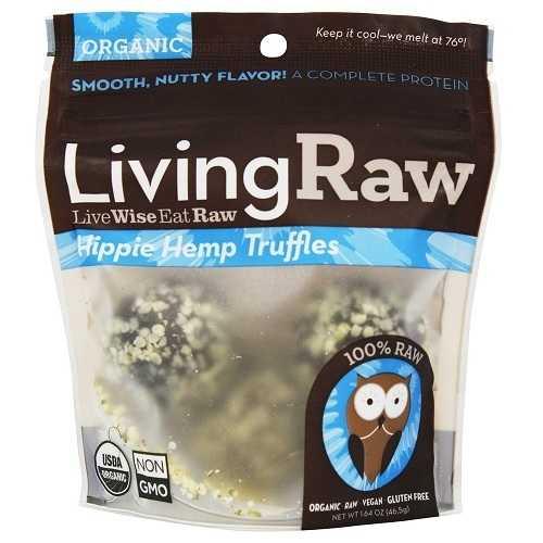 Living Raw Hippie Hemp Truffles (12x1.59 Z   )
