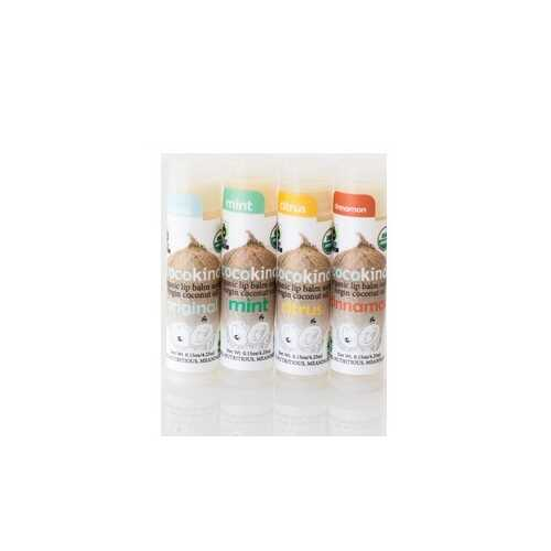 Cocokind Organic Lip Balm (Set of Four Flavors) (20x0.15 OZ)