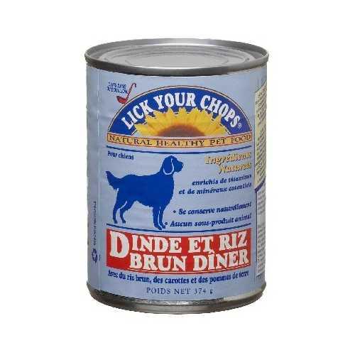 Lick Your Chops Turkey & Rice Dog (12x13.2OZ )