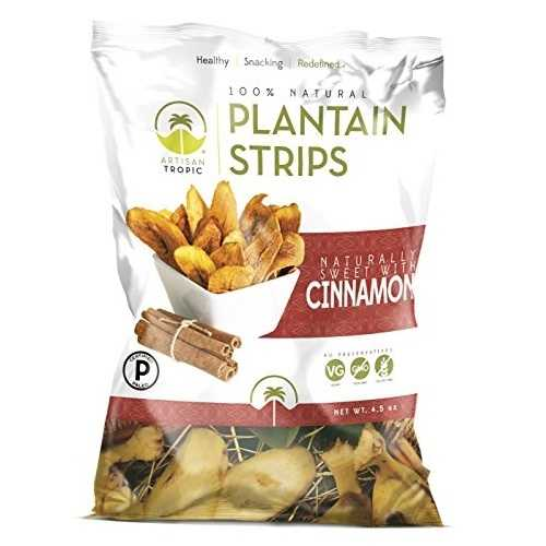 Artisan Tropic Plantain Strips with Cinnamon (12x4.5 OZ)
