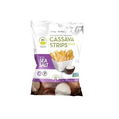 Artisan Tropic Cassava Strips With Sea Salt (12x4.5 OZ)