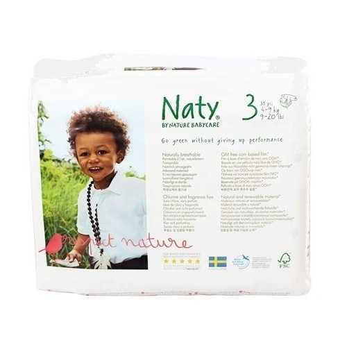 Nature Babycare Diapers Size 3 (16-28 lb) (4x31 Ct)