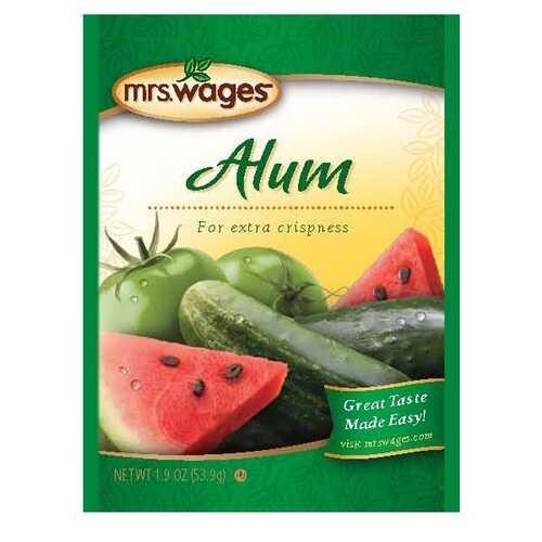 Mrs. Wages Alum Seasoning (12x1.9 OZ)