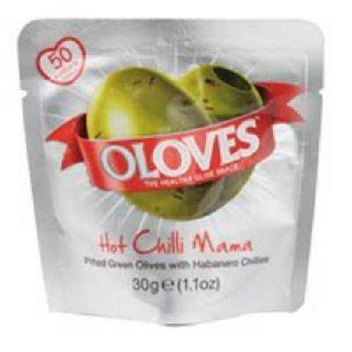 Oloves Oloves Chili/Oreg Olives (10X1.1 OZ)