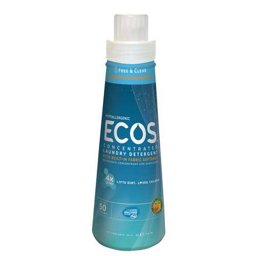 Earth Friendly Ecos 4X Free & Clear (6x25OZ )