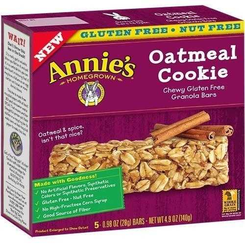 Annie's Chewy Gluten Free Granola Bars Oatmeal Cookie (12x5 PK  )