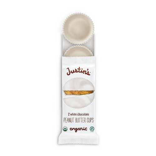 Justin's White Chocolate Organic Peanut Butter Cups (12x1.4 OZ)