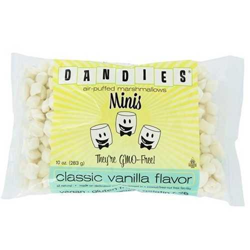 Dandies Vegan Marshmallows Vanilla Minis (12x10 OZ)