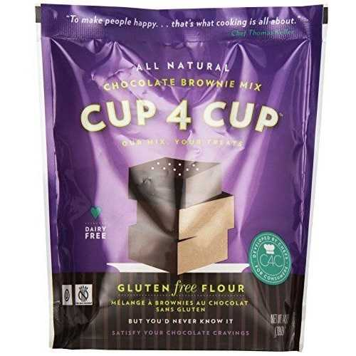 Cup4 Cup Brownie Mix Chocolate Gluten Free (6x14.25 OZ)