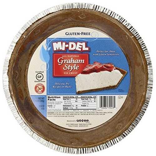Mi-Del Gluten Free Pie Crust Graham Style (12x7.1 OZ)