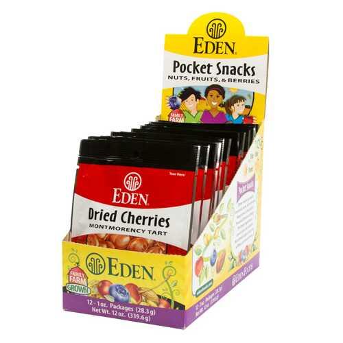 Eden Foods Cherries, Montmorency, Dried (12x1 OZ)