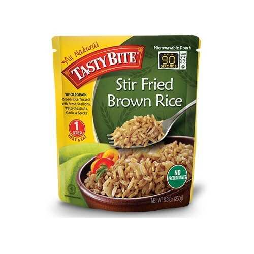 Tasty Bite Stir Fried Brown Rice (6x8.8 OZ)