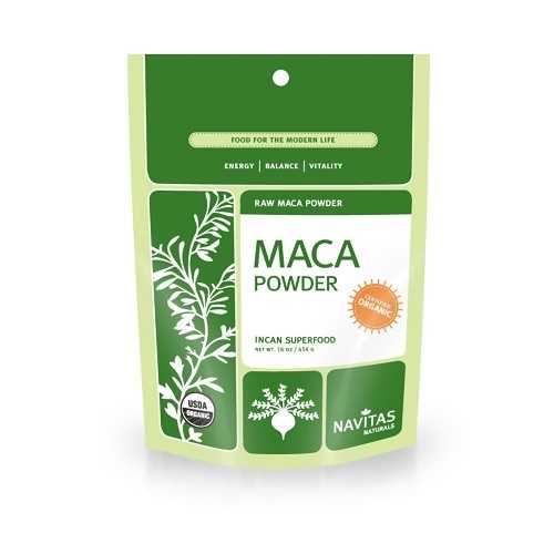 Navitas Naturals Organic Raw Maca Powder (6x16 OZ)