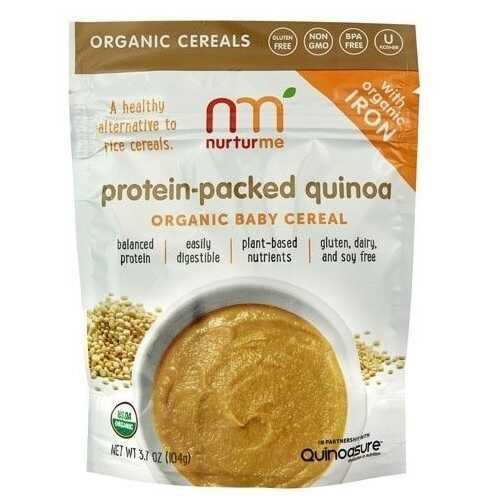Nurturme Organic Baby Cereal Protein Packed Quinoa (6X3.7 OZ)