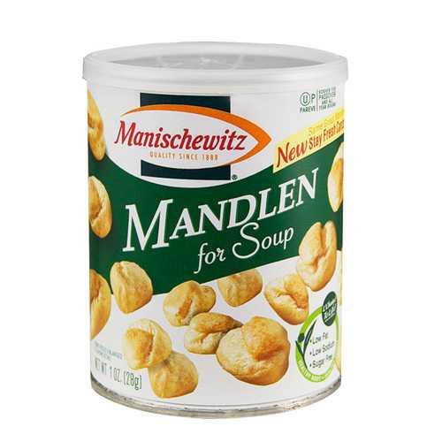 Manischewitz Mandlen for Soup  (12x1 OZ)