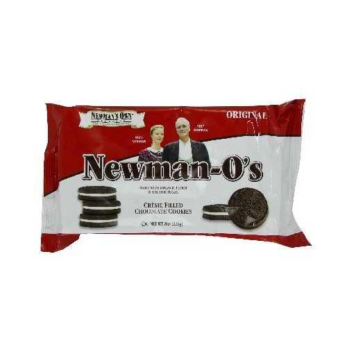 Newman's Own Organics O's Van Van Creme (6x8OZ )