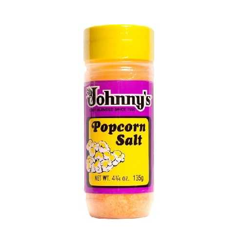 Johnny's Popcorn Salt (6x4.75OZ )