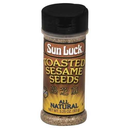 Sun Luck Sesame Seeds Toasted  (12x3.25 OZ)