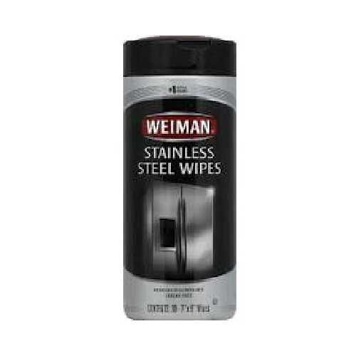 Weiman Stnls Steel Wipes (4x30 CT)