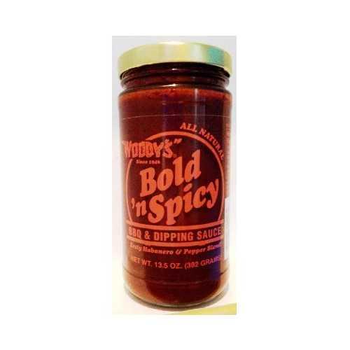 Woodys Bold N Spicey Sauce (6x13.5OZ )