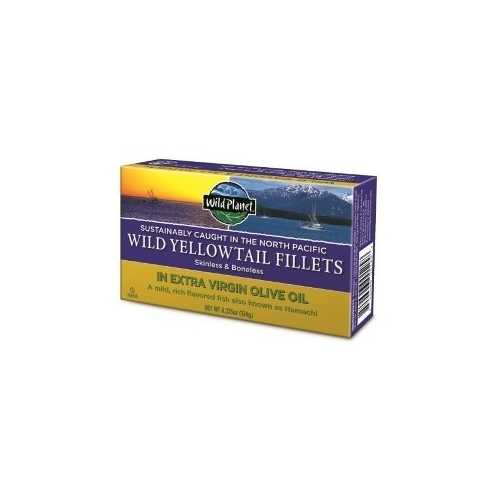 Wild Planet Yellowtail Fillets In Organic Extra Virgin Olive Oil (12x4.37 OZ)