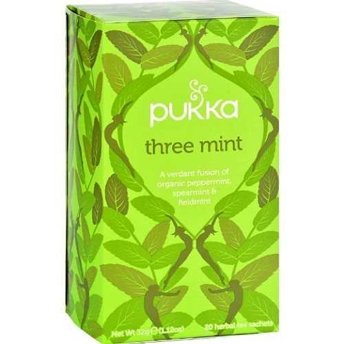 Pukka Herbs  Organic Three Mint Tea (6X20 Bag )