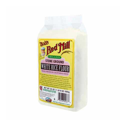 Bob's Red Mill Rice Flr White (1x25LB )
