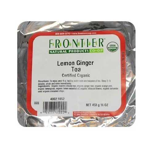 Frontier Lemon Ginger Tea (1x1LB )