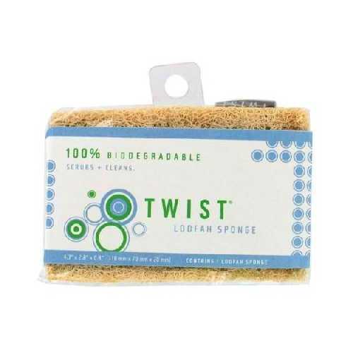 Twist Loofa Sponge (12x1Pack )